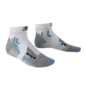 X-Socks Marathon Socks Women White/Sky Blue